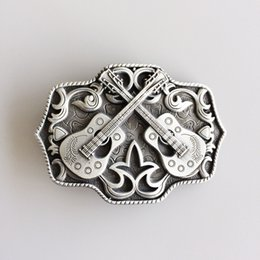 ab778d8dd719 new country music 2018 - New Vintage Western Country Cross Guitar Music  Belt Buckle Gurtelschnalle Boucle