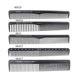Detangle brushes online shopping - New Style Black Hairdressing Comb Anti static Hair Cutting Combs Detangle Straight Hair Pro Salon Styling ToolNew