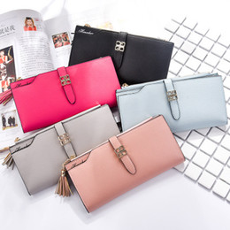 $enCountryForm.capitalKeyWord Canada - 2017 new ladies wallet Korean zipper large capacity multi-card long wallet women's handbags a variety of colors for sale