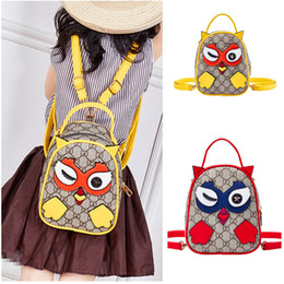 Kids Designer Backpacks 2019 New Fashion Baby Girls Boys Cartoon Letter  Printed Shoulders Bags Multipurpose Cross-body Bags Candy Snack Bags d08d324055898
