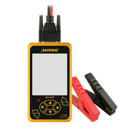 tool trucks NZ - AUTOOL BT460 12V 24V Car Battery Tester Lead-acid AGM GEL Cell Test Car Tools for 12V Cars 24V Heavy Trucks