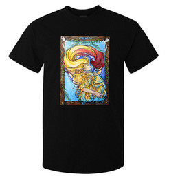 $enCountryForm.capitalKeyWord UK - Strength Tarot Card Art Logo men's t shirt black New Funny Brand Clothing top tee Cotton Low Price Top Tee For Teen Boys