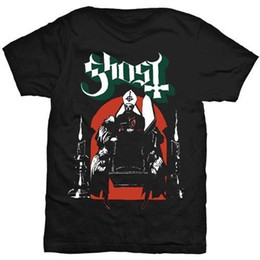 Fashion Design For Man Shirt NZ - Printed T Shirt 2018 Fashion Brand Crew Neck Ghost B.C Procession T-Shirt Short Design T Shirts For Men