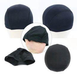 net wigs 2019 - Spandex Glueless Dome Mesh Wig Cap for Making Wigs Black Soft Elastic Stretchable Net Caps Freeshipping cheap net wigs
