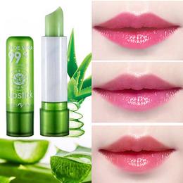 Mood Lipstick NZ - Aloe Vera Discolored Lip Balm Color Mood Changing Lipstick Long Lasting Moisturizing Hydrate Lipstick Lip Care