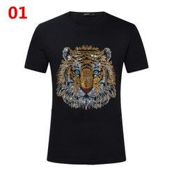 Men S Clothes Canada - New Hot Fashion Sale Brand Clothing Men Print Cotton Shirt T-shirt men Women T-shirt 11 styles S-5XL
