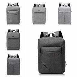 Travel lapTop charger online shopping - USB Oxford Backpack Student Double Shoulder Bag Leisure Computer Bag With USB Charger Laptop Travel Backpack LJJO5305