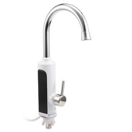 Toptan satış Dijital Anında Elektrikli Su Isıtıcı Sıcak Musluk Mutfak Elektrikli Musluk Su Isıtma Anında Su Isıtıcı Dijital Ekran 220 V 3000 W NB