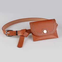 $enCountryForm.capitalKeyWord Canada - Vintage Women Waist Bag Leather Pouch Money Belt Bag Bum Travel Wallet Mobile Phone Waist Pack Brand Fanny Pack For Women