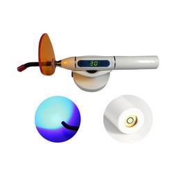Máquina de curado de lámpara de curado dental Lámpara de curado de luz inalámbrico inalámbrico (blanco)