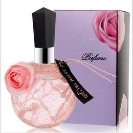 $enCountryForm.capitalKeyWord Canada - Free shipping 100ml hot selling long lasting fresh flavor sweet heart pink rose spray lady perfume