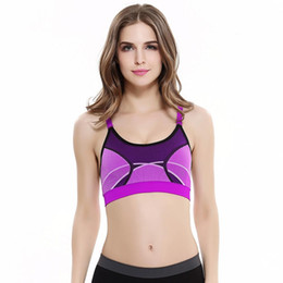 feeb6a231cb Women Ladies Shockproof Professional Sports Underwear Without Steel Ring  Large Size Quick-drying Running Yoga Vest Bra