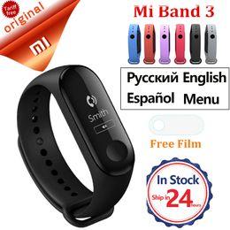 Fitness Band Trackers NZ - Xiaomi Mi Band 3 Smart Bracelet Heart Rate Monitor Miband 3 Smart Band Waterproof Fitness Tracker Smart Wristband Mi Band 3