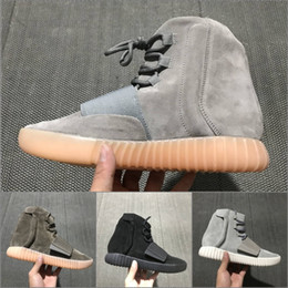 $enCountryForm.capitalKeyWord Canada - 2019 Best Quality 750 Kanye West men women High Walking Sneakers Black Grey 750 Leather Sport Running Shoes Size 36-47