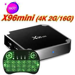 $enCountryForm.capitalKeyWord Australia - X96 MINI 2GB 16GB TV Box Amlgoic S905W Android 7.1 TV BOX With Wireless Mouse Key Board Quad Core 4K Media Player