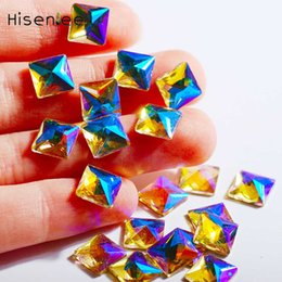 $enCountryForm.capitalKeyWord NZ - Top quality transparent AB color different shapes of glass rhinestone DIY charm nails   fashion body art decoration accessories
