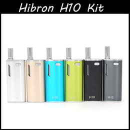 $enCountryForm.capitalKeyWord Australia - Authentic Hibron H10 Oil Starter Kit 650mAh Battery Bud Touch Vape battery 0.8ml H10 Upgraded CE3 Pyrex Cartridges Atomizer O pen