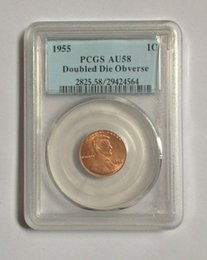 Coin Lincoln NZ - Wholesale Hot Selling PCGS 1955 VDB AU58 MS66 Lincoln Small Cents Coin  FREE SHIPPING