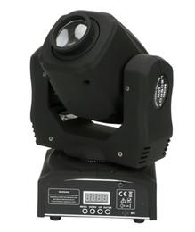 6X 60W LED Spot Moving Head Light / EUA Luminárias LED DJ Spot Light 60W gobo moving heads luzes super brilhante LED Spot DJ Light em Promoção