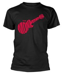 $enCountryForm.capitalKeyWord UK - The Monkees 'Guitar Logo (Black) T-Shirt - NEW & OFFICIALFunny free shipping Unisex Casual tshirt gift