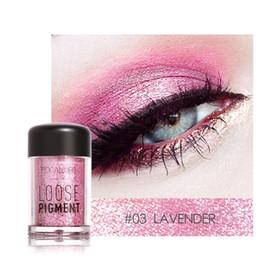 Wholesale Glitter Lips Australia - FOCALLURE 18 Colors Glitter Eye Shadow Cosmetics Makeup Diamond Lips Loose Eyes Pigment Powder Woman Cosmetics Make Up Eyeshadow