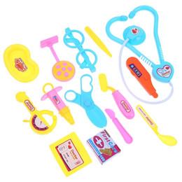 $enCountryForm.capitalKeyWord Australia - 15 Pieces Set Children Pretend Play Doctor Nurse Toy Set Portable Suitcase Medical Kit Kids Educational Role Play Classic Toys