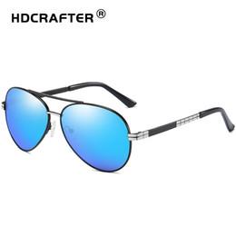 HDCRAFTER 2018 Pilot Sunglasses Classic Polarized Sunglasses Men Brand  Designer Mens d9daaefe53
