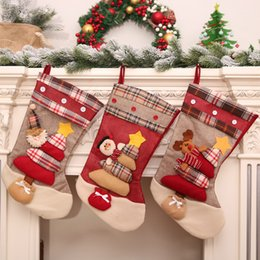 $enCountryForm.capitalKeyWord NZ - merry christmas Santa Claus stocking snowman kids gift bag Xmas tree decorations hanging ornament christmas decorations for home