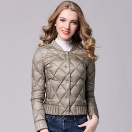 237718f2c53 Spring Winter Women Ultra Light Down Jacket Casual Female Portable duck  feather Coat Jackets Lightweight Parkas