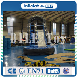 Pool inflatable water slides online shopping - Door To Door m m Inflatable Water Slide Inflatable Pool Slide Inflatable Weter Slide For Sale