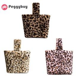 Leopard Print Clutch Bags Canada - Women Day Clutches Leopard Print Handbag Casual Girls Sling Bag for Girls Fashion Shoulder Bucket Bags Bolsas Feminina 2018 New