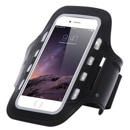 2018 Новый IPhone6S спорта на открытом воздухе светодиодный фонарик Arm с 5.5 дюймов ночь мобильный Arm Pack Arm пояса