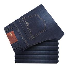 2018 nouveaux italiens marque jeans pantalons pour hommes un jeans de coton de mode mani pantalons hommes calca hommes célèbre marque jeans classiques en Solde