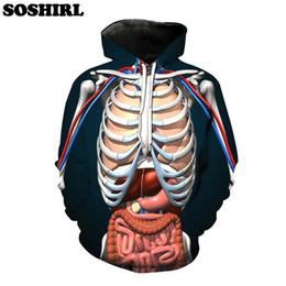 $enCountryForm.capitalKeyWord NZ - SOSHIRL 3D Skeleton Hoodie Blue Hooded Sweatshirt For Teens Skeletal Map Hoodies Punk Harajuku Casual Tops US Size Dropship