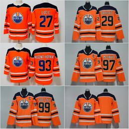 c9a684f45 Edmonton Oilers Men Youth Women Jerseys Hockey 99 Wayne Gretzky 29 Leon  Draisaitl 97 Connor McDavid 27 Milan Lucic 93 Ryan Nugent-Hopkins