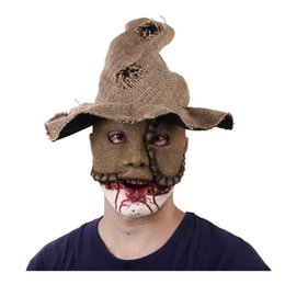zombie masks 2019 - Zombie Mask Latex Bloody Scary Extremely Disgusting Full Face Mask Costume Party Halloween Face Adults Demon Devil cheap