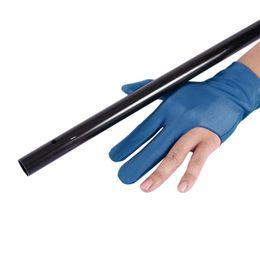 Профессиональный унисекс левой рукой Strectchable удобный Кий бильярдный бассейн шутеры 3 пальца перчатки аксессуар Бесплатная доставка на Распродаже