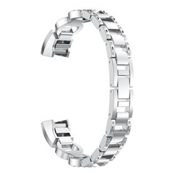 $enCountryForm.capitalKeyWord UK - Bling Rhinestone Fitbit Alta HR Bands,Stainless Metal Bands Adjustable Jewelry Strap Bracelet for Fitbit Alta Alta HR