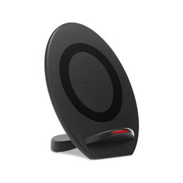 $enCountryForm.capitalKeyWord UK - For Iphone 8 X Qi Fast Wireless Charger 10W Dock Phone Holder Phone Wireless Car Charger For iphone 8 X Samsung S7 S8 note8 OTH807