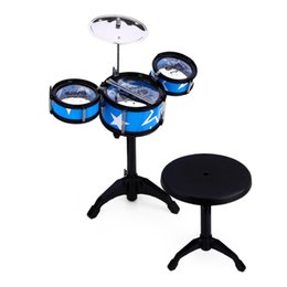 Musical instruMent druMs online shopping - Wanyi Child Jazz Drums Kit Musical Instrument Toy Xmas Birthday Present Puzzle Simulation Plating Beating Shelf Best selling Musical