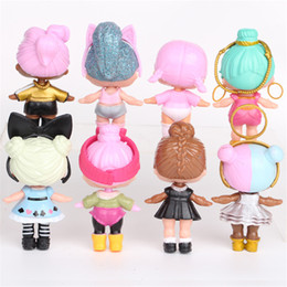 Gifts for year Girl online shopping - 8Pcs LOL Dolls Action Figures Realistic Reborn PVC Girls Dolls Kawaii Children Toys for Best Gift Drop shipping