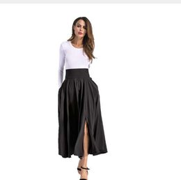 99cb582e32306 BACHASH Women Linen Cotton Long Skirts Elastic Waist Pleated Maxi Skirts  Beach Boho Vintage Summer Skirts Plus Size S-4XL