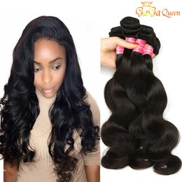 tangle free hair extensions 2019 - 4 Bundles Brazilian Body Wave Virgin Hair Unprocessed Brazilian Human Hair Extensions Brazilian Virgin Hair Body Wave Ta