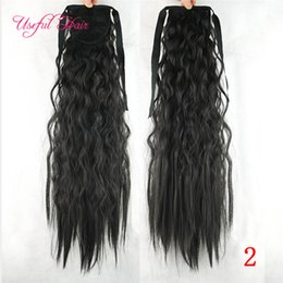 $enCountryForm.capitalKeyWord NZ - natural wave ombre color Hair Pony Tail Hairpieces Drawstring Ponytails comb ponytail curly blonde hair extension clip in hair extensions