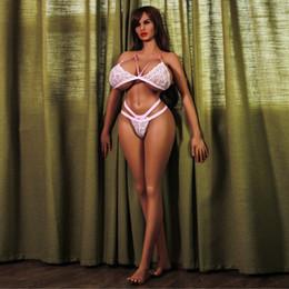 Silicone Love Dolls Ass Australia - new 170cm real silicone sex dolls big ass, huge breast life size european head love sex doll Masturbators toys vagina for men