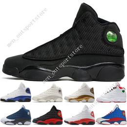 bbddf92c7a33 13 13s Mens Basketball Shoes Phantom Chicago GS Hyper Royal Black Cat  Flints Bred He Got Game DMP men sport sneakers women designer trainers