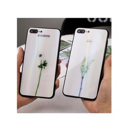 $enCountryForm.capitalKeyWord Australia - 1 Pc Lot Laser gradient color Small fresh flower pattern case for Vivo x20 x20 plus x9 x9s x9 plus glass Cell phone cases + Ring bracket