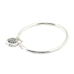 Heart padlocks online shopping - 2018 Mother Day Sterling Silver Jewelry Limited Edition Heart Padlock Jewelry Fits For women Making Pandora Bracelet