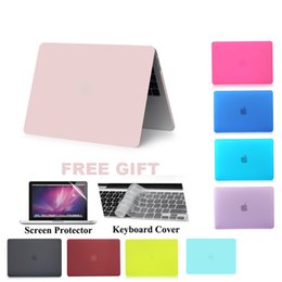 Discount macbook pro 13 matte case - 2016 New Matte Hard Case Cover for MacBook Pro 13 A1706 for Pro 15 A1707 With Touch Bar Matte Laptop Case 13 A1708 Cover