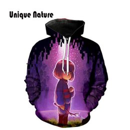 8767d79bafa Unique Nature 3d Cute Girls Print Hoodies Long Sleeve Hoody Colorful  Tracksuits Mens Shirts Hip Hop Outwear Long Sleeve Pullover
